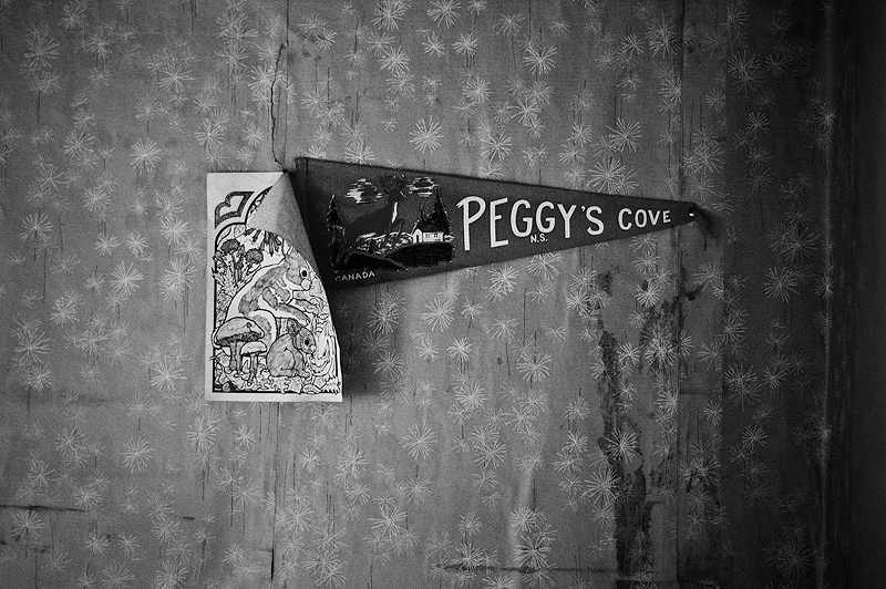 Peggy's Cove BW