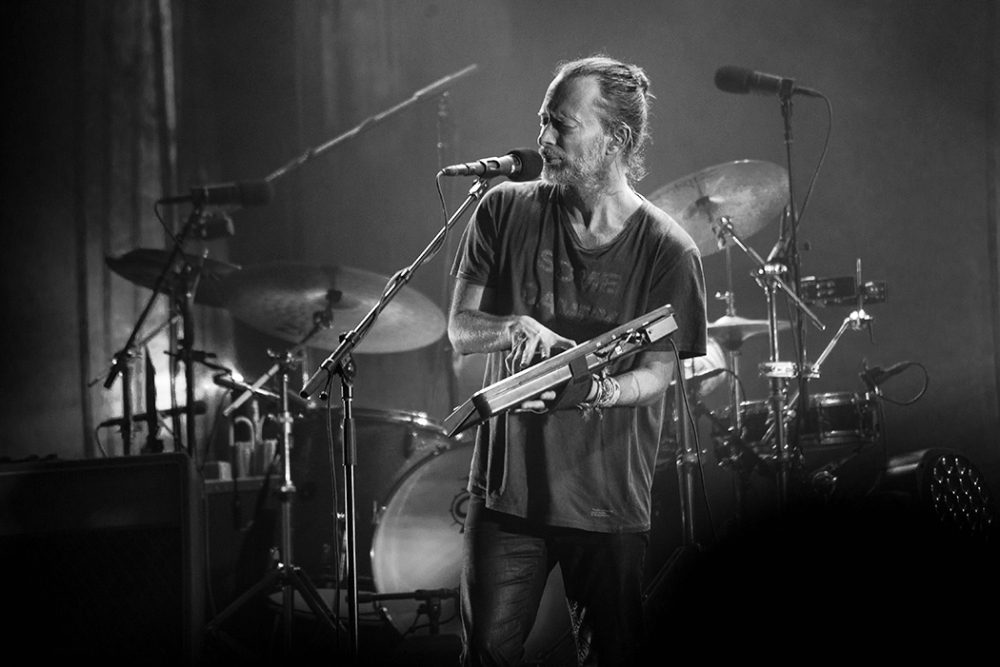 Radiohead's Thom Yorke preforms in Montreal on July 31st, 2016